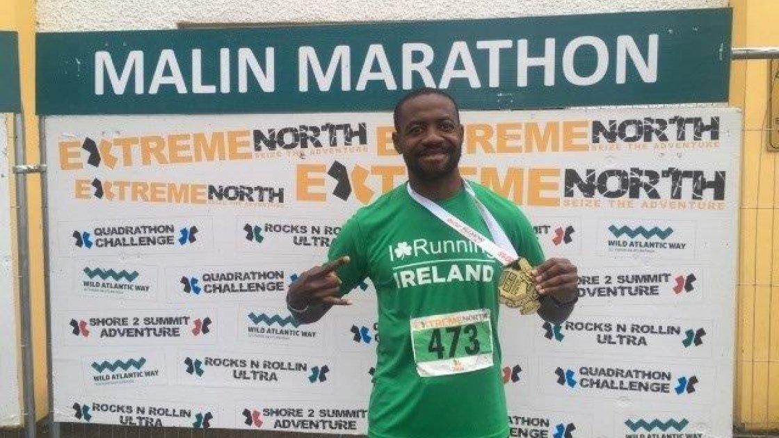 Uzo is no stranger to marathons. Photo: Uzo Nwankwo.