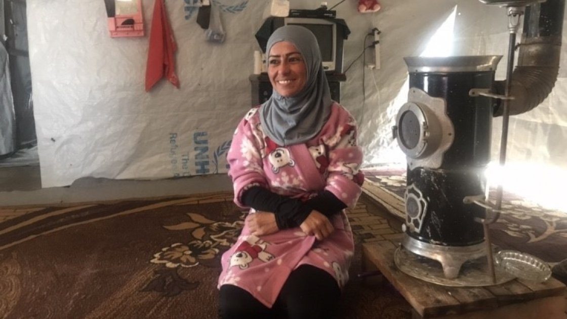 The new paths have improved Fatima's standard of living, but she dreams of returning to Syria. Photo: Concern Worldwide
