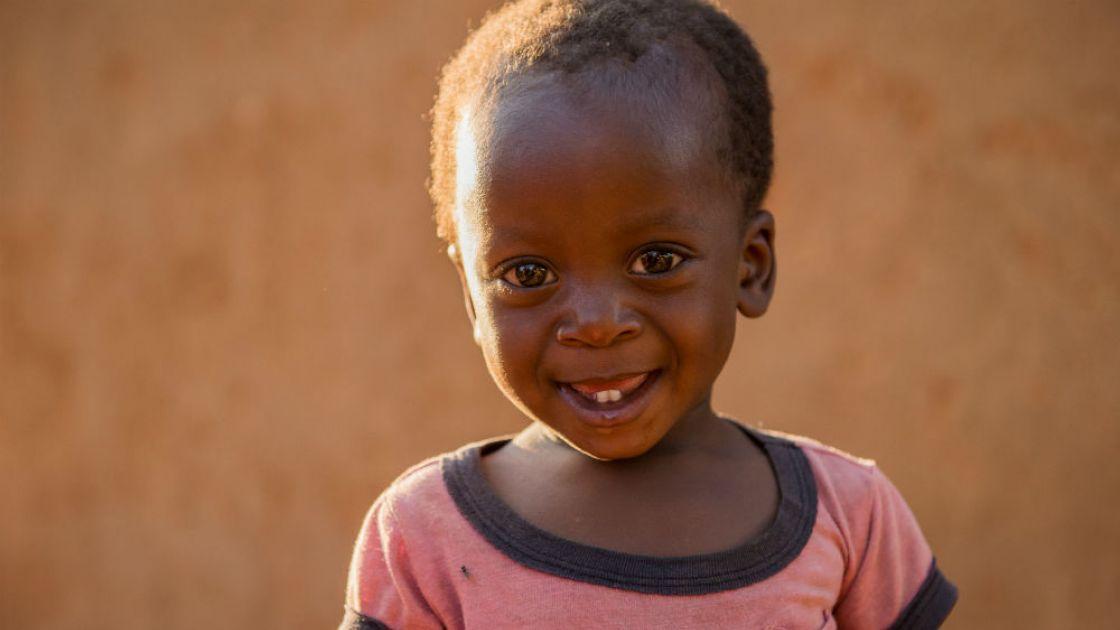 15 month old Marthiasimboela from Tambo, Zambia. Photo taken by Gareth Bentley / Concern Worldwide.
