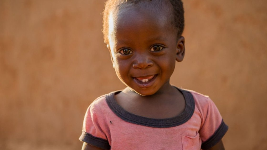15 month old Marthiasimboela from Tambo, Zambia. Photo taken by Gareth Bentley / Concern Worldwide.