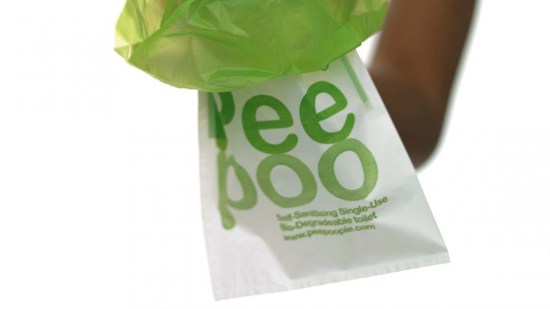 PeePoo bags are one way of addressing the sanitation gap.