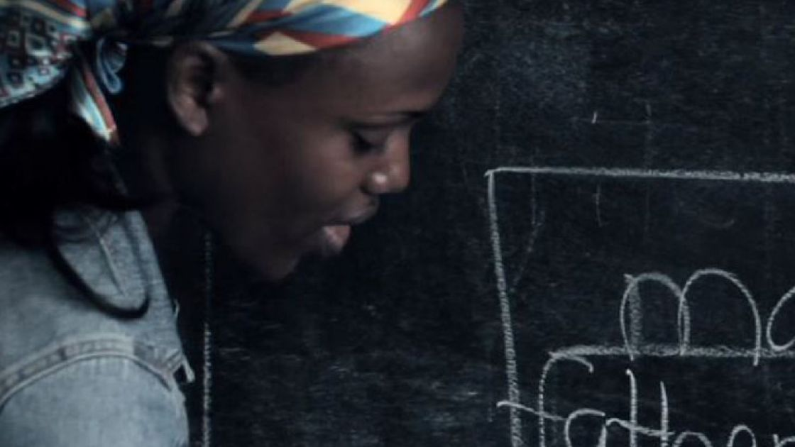 "School teacher from Grand Bassa County, Liberia. Still from ""Education in Liberia: Concern's approach"". Credit: Studio Say So."