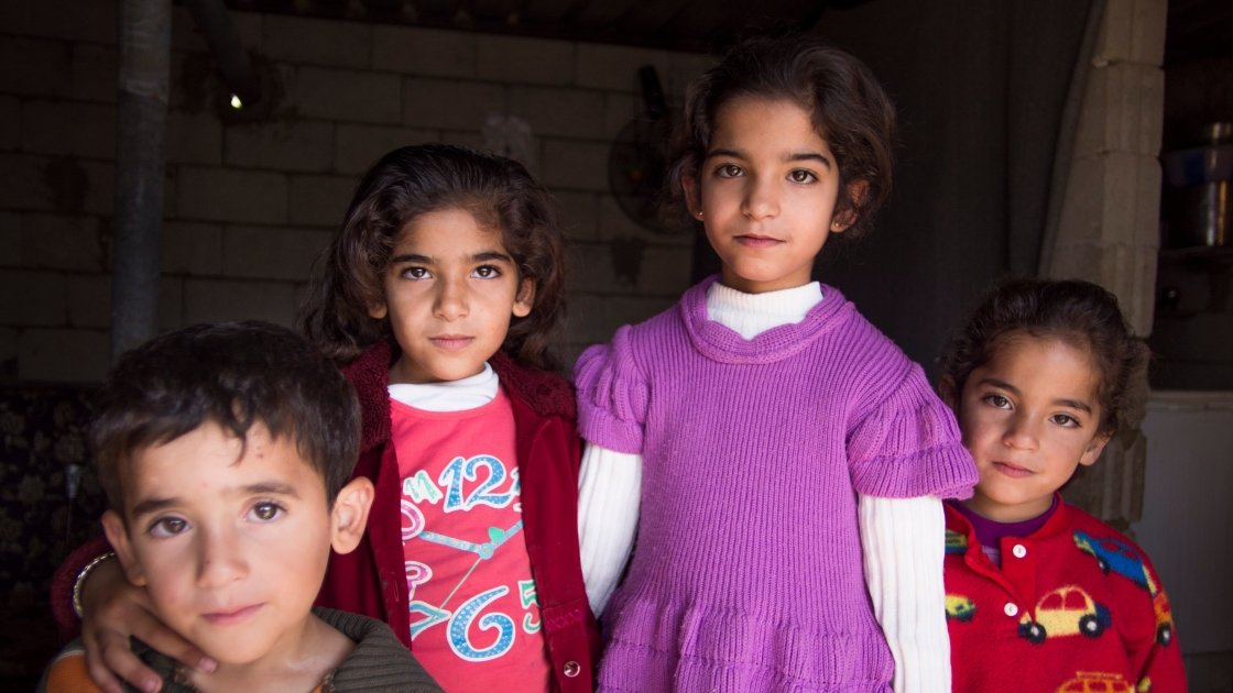 Young Syrian children. Photo: Concern Worldwide.