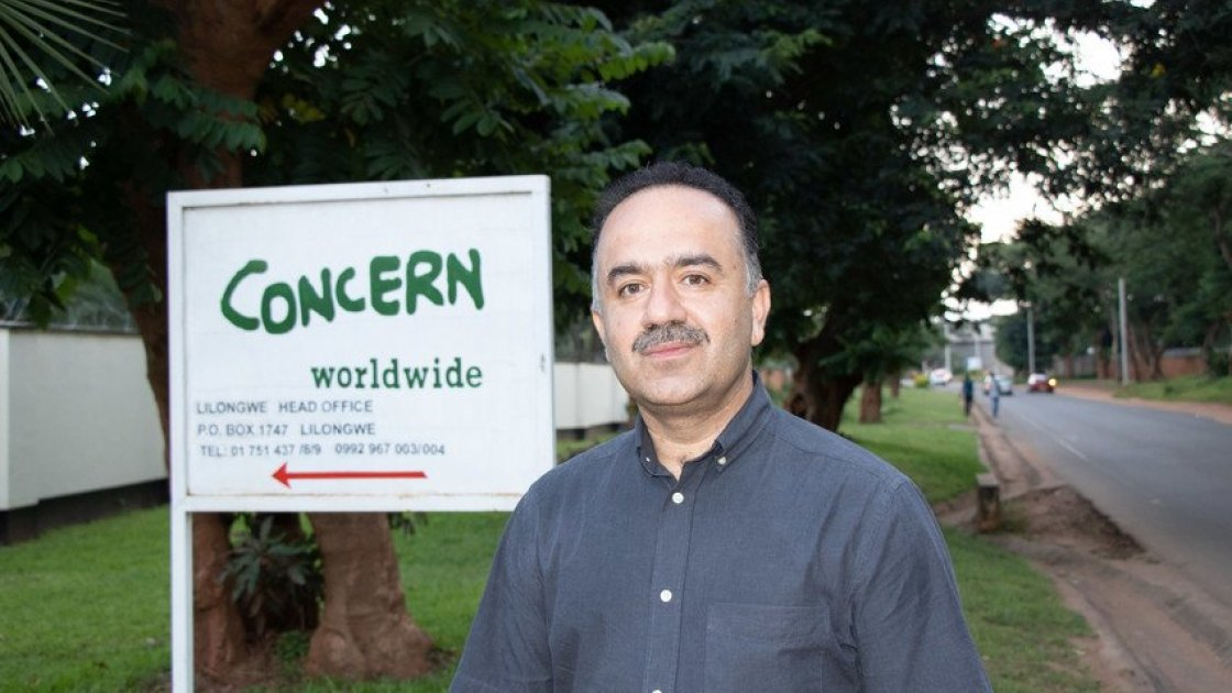 Country Director of Malawi Yousaf Jogezai.  Photo: Eamon Timmins/ Concern Worldwide