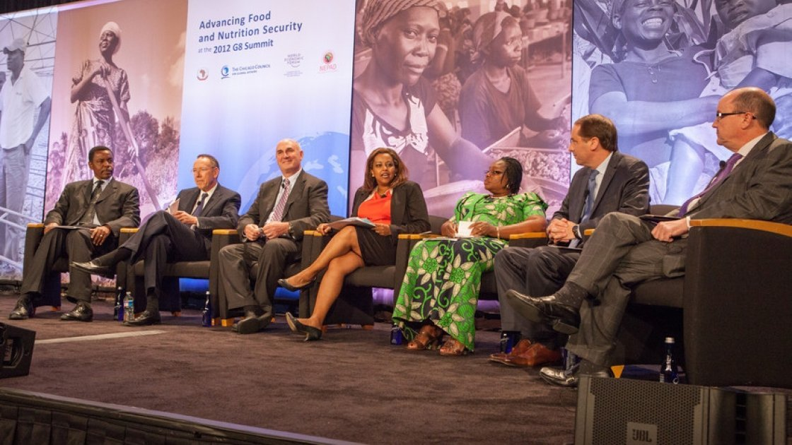 Advancing food and nutrition security at the 2012 G8 Summit. Photo: Les Talusan.