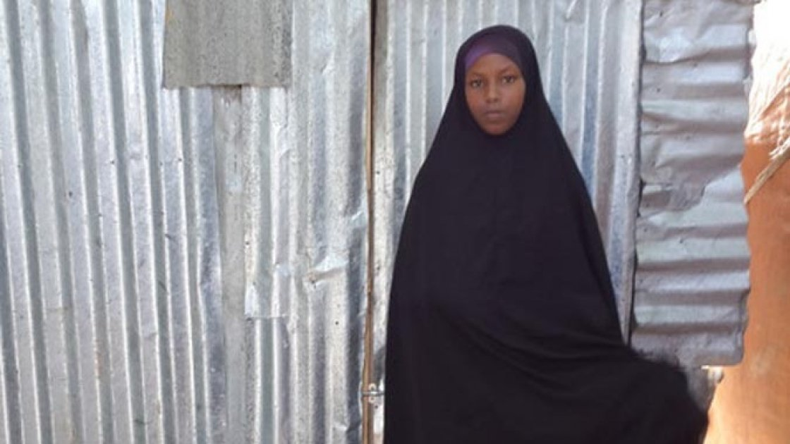 Having lost her mother at the tender age of three months, Amal Ali Ibrahim has lived all her life with her father in Siliga internally displaced people's (IDP) camp in Wadajir district.