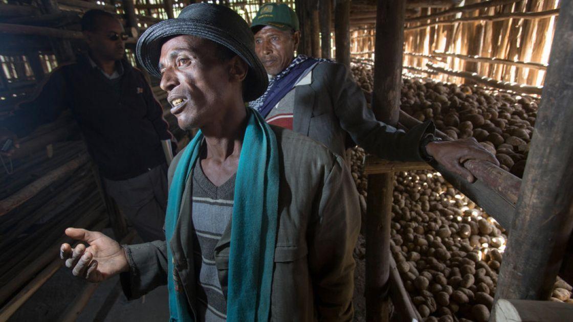 Ibre Said in Ethiopia. Photo: Concern Worldwide.