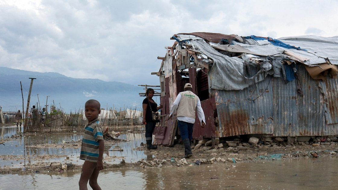 The aftermath of Hurricane Matthew in Haiti. Photo: Concern Worldwide