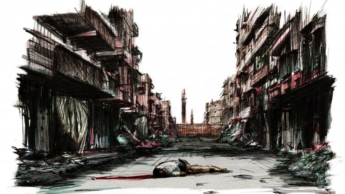 Illustration: Marc Corrigan for Concern Worldwide.