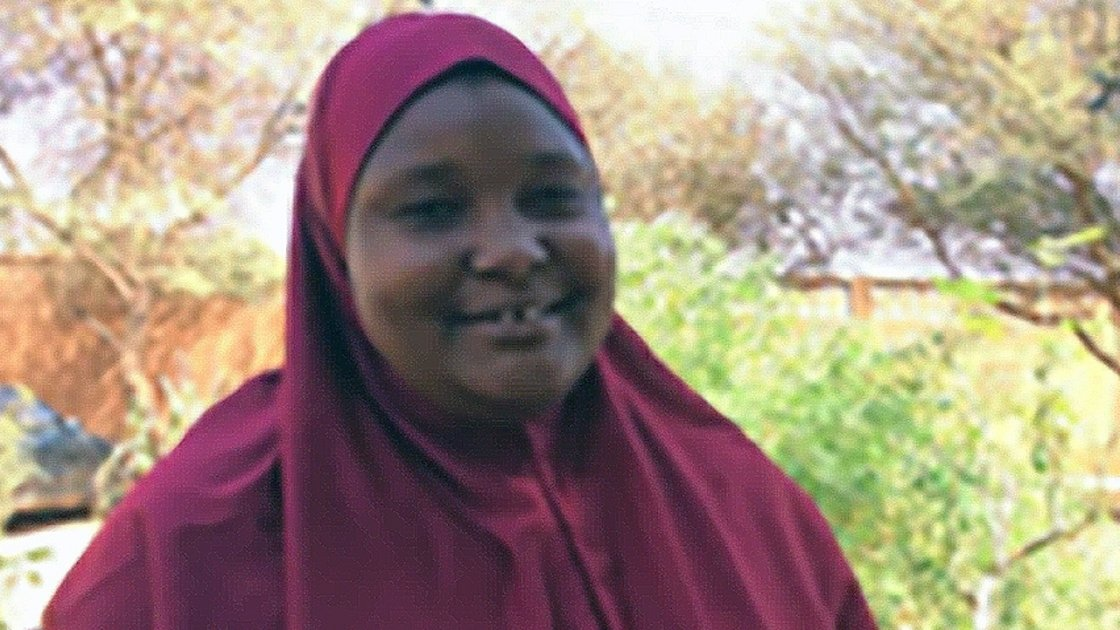 There are not enough words of encouragement for women, says Amina.