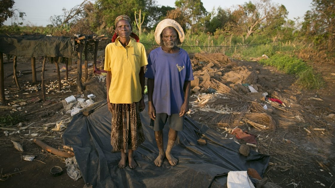 Families have lost their homes and crops and desperately need aid in Mozambique. Picture by Concern's Kieran McConville