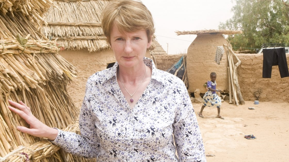 Concern Worldwide's Regional Director for the Horn of Africa, Carol Morgan
