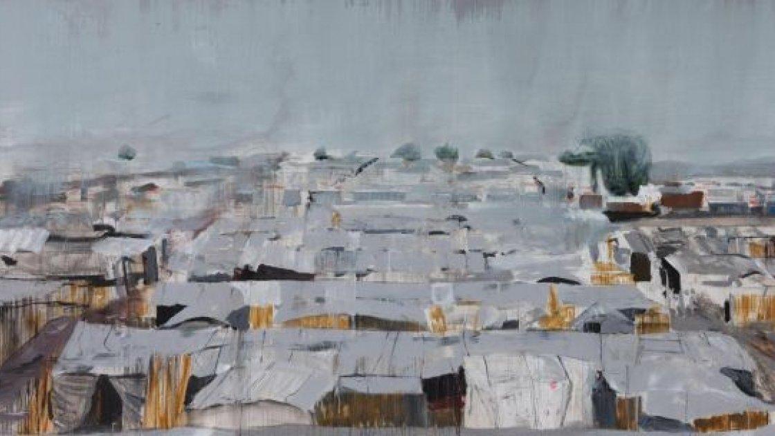 Bentiu Refugee Camp, South Sudan, by Brian Maguire