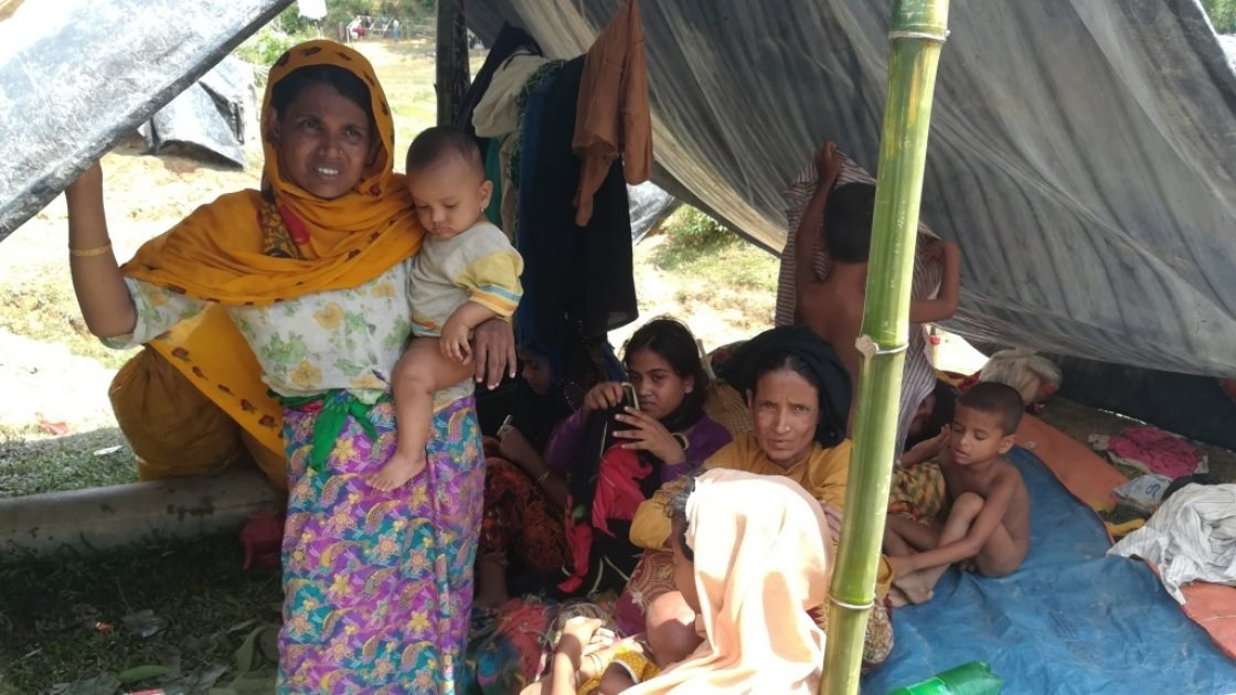 Rohingya refugees. Photo: Concern Worldwide