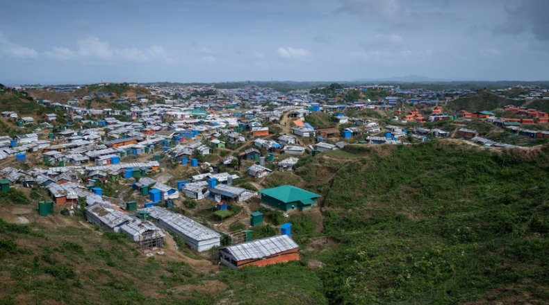 Concern continuing to help Rohingya refugees amid COVID-19 restrictions. Photo: Abir Abdullah