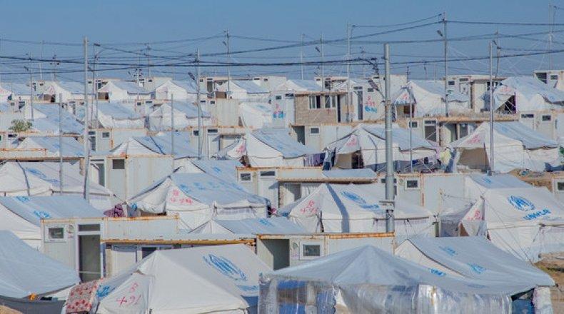 A refugee camp in north-west Iraq.Photo: Gavin Douglas/Concern Worldwide.