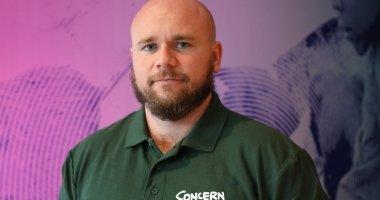 Mark Johnson, Concern Area Co-ordinator for North Kivu, DRC