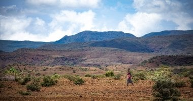 The landscape of Turkana, North Kenya. Photo: Gavin Douglas / Concern Worldwide.
