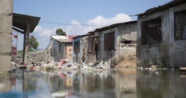 Ti Ayiti in the Cité Soleil area of Port au Prince is one of the most disadvantaged communities in the city. Photo: Kieran McConville / Concern Worldwide.