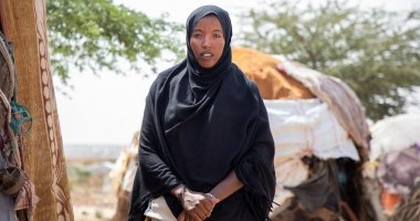 Khadan Mohamed Hamed lives in a camp for displaced people in Somaliland.