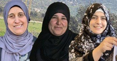 Composite photo of *Khadija, *Nawal and *Lama. Photo: Jason Kennedy/ Concern Worldwide