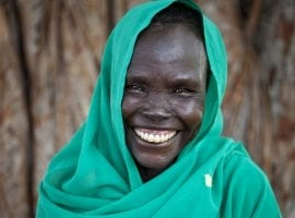 Maceline from South Sudan