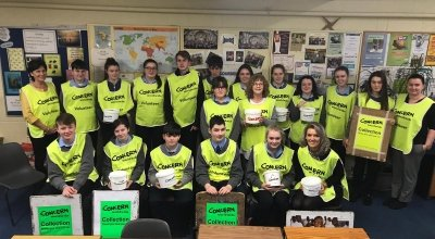 School Fundraising. Tarbert Comprehensive School, Tarbert, Co Kerry. Photo: Noeleen Doyle / Concern Worldwide.