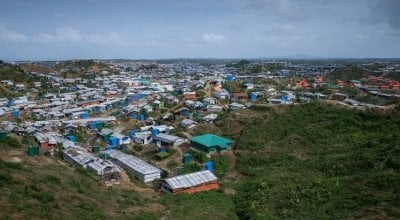 Cox's Bazar Rohingya refugee camp in Bangladesh