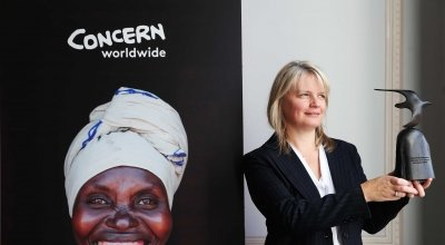 Twitter Managing Director Sinéad McSweeney is 2019's Women of Concern honouree. Photo: Leon Farrell / Photocall Ireland / Concern Worldwide.