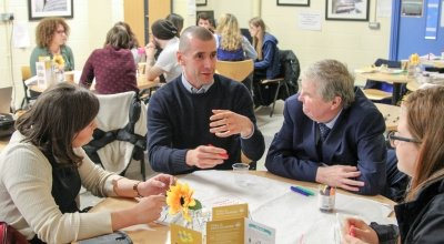 Concern's Global Goals Cafés have been a huge success in the community sector. Photo: Concern Worldwide.