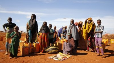 Relocated IDPs in Baidoa, Somalia, 2019