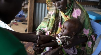 Concern has launched a major EU-funded programme to reduce levels of malnutrition, sickness and death among children aged under-five. Photo: Concern Worldwide