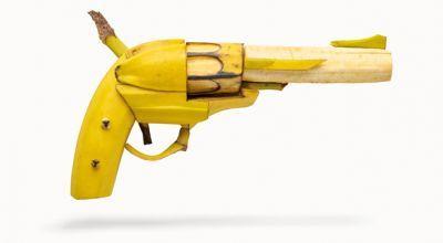 Nothing Kills Like Hunger banana revolver