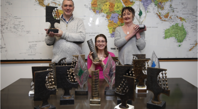 In 2015, or the sixth consecutive year, our annual report won the Published Accounts Awards for charities in Ireland. This is an important independent recognition of our financial reporting. Concern has been a finalist in this important annual award since 1988, winning a total of 21 times. Photo: Concern Worldwide, 2016.