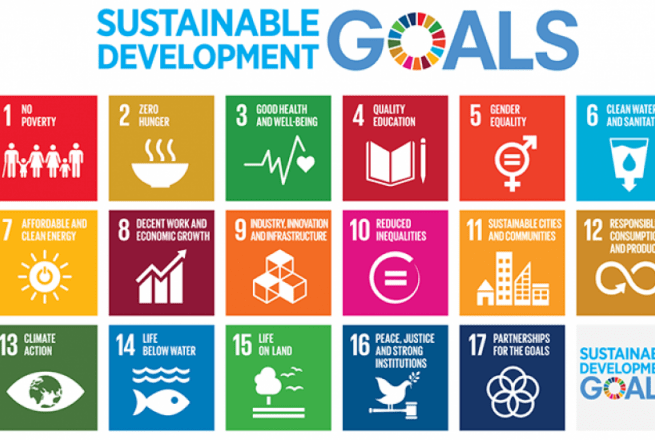 The Sustainable Development Goals. Photo: Concern Worldwide.