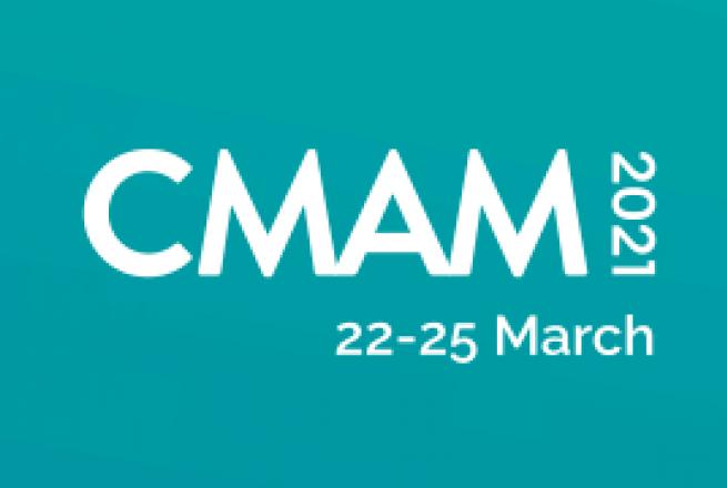 CMAM2021 virtual conference logo